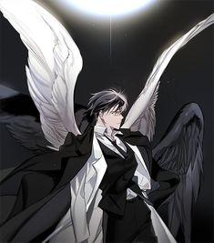 Anime Angel, Anime Oc, Anime Demon, Character Inspiration, Character Art, Dazai Bungou Stray Dogs, Beautiful Fantasy Art, Handsome Anime Guys, Boy Art