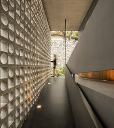 block screens, Studio MK27,architecture,concrete design