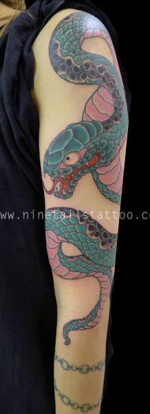 Kanae - Nine Tails Tattoo, London. enquiries@ninetailstattoo.com