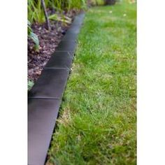 Buy Black Metal Brick Style Lawn Edging 12 X 24cm At Guaranteed Cheapest  Prices With Rapid Delivery Available Now At Greenfingers.com, The UKu0027s #1  Online ...
