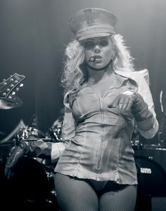 Heavy Metal Girl, Heavy Metal Music, Rock And Roll Girl, Maria Brink, Bodysuit Costume, Women Of Rock, Grunge Girl, Stevie Nicks, Female Singers