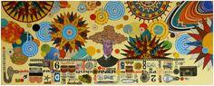 Topografia snów II, [collage 20 x 50 cm], 2011