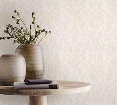 Tapete Ranken Floral Glanz beige creme Marburg 58035