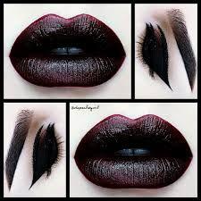 Billedresultat for gothic makeup
