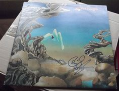 YES YESTERDAYS - RICK WAKEMAN SIGNED - 1974 ATLANTIC K 50048 A1 / B1 EXCELLENT