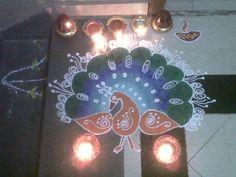 Diwali Rangoli - 1