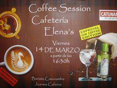 """opinión-debate: Coffee Session. """"ELENA´S"""" ALMERIA."""
