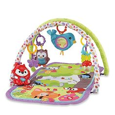Baby Girls//Boys Play Mats Basket Hanging Toys Activity Gym Soft Cushion 4 Design
