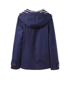 Joules U Coast Womens Hooded Waterproof Jacket - Anna Davies