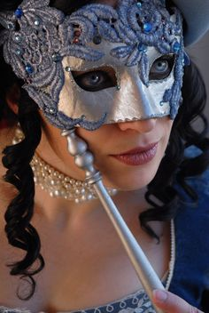 masquerade mask costume accessory is a must for any Princess Ball !