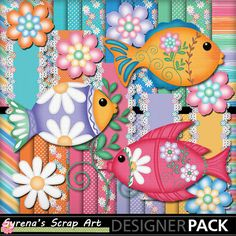 Pretty Fishes Digital Scrapbook kit. http://www.mymemories.com/store/display_product_page?id=SESA-CP-1405-60362&r=syrenasscrapart