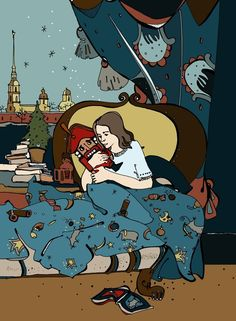 """""""Щелкунчик и мышиный король"""" Иллюстратор Лидия ЖУКОВА - natmel.ru"""