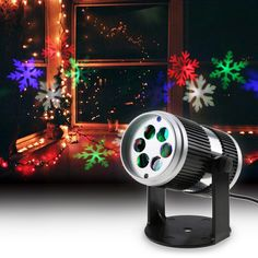 christmas laser projector lights Activated Moving Dynamic Snowflake Film Projector Light Pattern New year laser Decoration Lamp  Price: 32.00 & FREE Shipping  #tech|#electronics|#bluetooth|#computers
