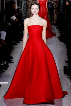 Valentino couture ~my formal dress is this color and has the full skirt. but mine is short with a sweetheart neckline. still gorgeous.
