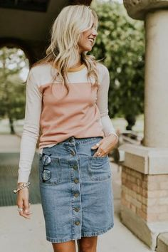 Apr 2020 - Shop Trendy Bottoms for Women - Spring Pants & Clothing Preppy Outfits, Cool Outfits, Fashion Outfits, Stylish Outfits, Travel Outfits, Modest Outfits, Denim Fashion, Fashion Clothes, Womens Fashion