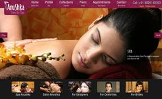 Our New #Beauty #Salon Designed Website www.anushkasalons.com