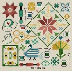 Free Patterns | by Date Posted | Page 10 of 106 | Cyberstitchers Cross-Stitch Picture Gallery