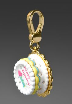 Juicy Couture Happy Birthday Cake Charm