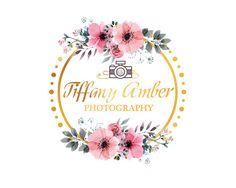 Floral Branding Kit Custom Logo Design Logo by LoveArtsStudio Custom Logo Design, Custom Logos, Graphic Design, Logo Branding, Wedding Logos, Jewish Art, Brand Packaging, Watercolor Flowers, Flower Designs