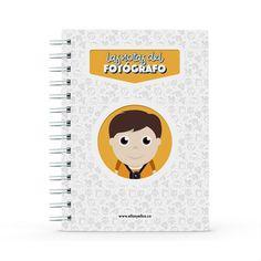 Cuaderno - Las notas del fotógrafo, encuentra este producto en nuestra tienda online y personalízalo con un nombre. Notebook, Data Sheets, Lawyers, Creative Photography, Notebooks, Report Cards, The Notebook, Exercise Book