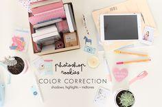 Photoshop rookies // color correction - Vanilla Craft Blog