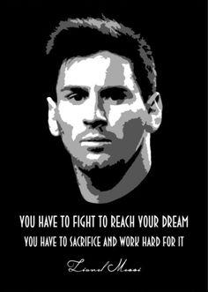 Inspirational words from the legendary Leo Messi. Basketball Motivation, Basketball Rules, Basketball Skills, Sports Basketball, Sport Football, Sport Motivation, Basketball Tattoos, Football Quotes, Quotes Motivation