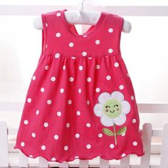 2017 New Summer Baby Girl Dress Princess Year Birthday Infant Girl Dot Newborn Dresses Baby Girls Cutton Clothes Baby Dress Clothes, Little Girl Dresses, Girls Dresses, Summer Clothes, Baby Girl Princess, Cute Baby Girl, Baby Girls, Fashion Kids, Butterfly Print Dress