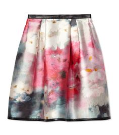 What to wear at Art Basel Miami Beach – Honor Floral Printed Skirt  See more outfit ideas at #ShopBAZAAR: http://shop.harpersbazaar.com/miami-art-basel-2013/