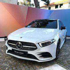 The new A-Class speaks for itsel Mercedes A Class, Mercedes Benz, Cars And Motorcycles, Luxury Cars, Dream Cars, Automobile, Sporty, Vehicles, Women