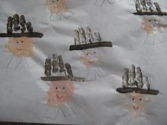 Almost Unschoolers: Getting to Know The Pilgrims - Putting Names to Faces