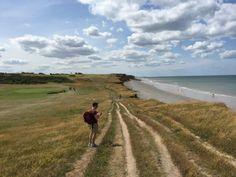 Coastal walks in Sheringham on the Norfolk Coast, UK.