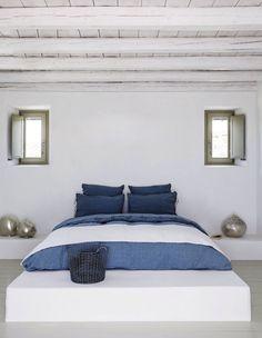 Sparse bedroom.