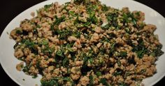 My first experience with laab  or larb  was when I was traveling around Southeast Asia after college. It's a spicy meat salad (you c...