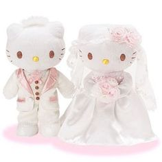 Hello Kitty Wedding Plush