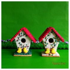 images of bird cookies | Bird cookie house | Gorgeous Cookies