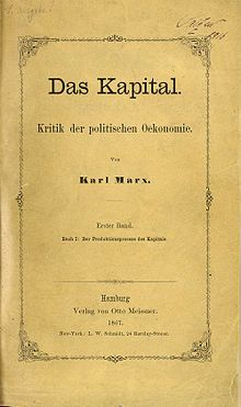 These three volumes are collectively known as Das Kapital. Description from en.wikipedia.org. I searched for this on bing.com/images