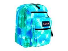 JanSport Big Student Blinded Blue Hippy Skip Backpack