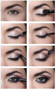When it comes to eye make-up you need to think and then apply because eyes talk louder than words. The type of make-up that you apply on your eyes can talk loud about the type of person you really are. It doesn't really matter if y Soft Makeup, Eye Makeup Tips, Makeup Goals, Makeup Inspo, Makeup Inspiration, Hair Makeup, Makeup Ideas, Natural Makeup, Makeup Tricks