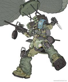 Colors, decals, addition, etc Robot Concept Art, Armor Concept, Robot Art, Cyberpunk Rpg, Mecha Suit, Robot Picture, Fighting Robots, Gundam Mobile Suit, Gundam Custom Build