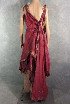 Spartacus dress
