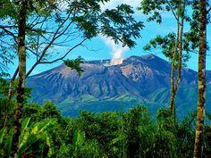 View of the Rincón de la Vieja Volcano - Liberia Canton