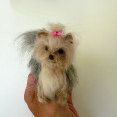 Needlefelted Yorkshire Terrier miniature