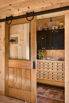 Coventry Log Homes | Pantry