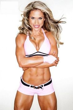 The incredible Monica Brant - IFBB professional figure competitor and former fitness competitor.