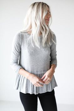 Gigi Ruffled Top from Luca and Grae