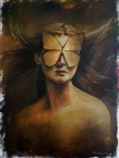 "Saatchi Art Artist Tatiana Siedlova; Painting, ""Love is blindness"" #art"