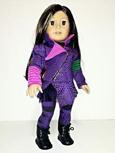 Disney Descendants Mal outfit for American Girl Doll