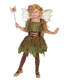 Frightfully Fun: Halloween Costumes  -  Forum Novelties Green Woodland Fairy Dress-Up Outft Toddler & Girls