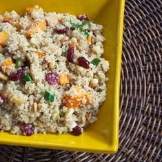 Sweet And Crunchy Quinoa Salad (via www.foodily.com/r/axC0MLMsP4)