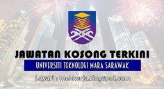 Jawatan Kosong di Universiti Teknologi MARA Sarawak - 21 Aug 2016   Universiti Teknologi MARA dengan ini mempelawa calon-calon Bumiputera Warganegara Malaysia yang berkelayakan dalam bidang-bidang yang berkaitan untuk mengisi kekosongan jawatan Tetap di Universiti Teknologi MARA (UiTM) Sarawak Kampus Mukahseperti berikut:-  Jawatan Kosong Terkini 2016diUniversiti Teknologi MARA Sarawak  Jawatan:  1. PENOLONG BENDAHARI W412. PEGAWAI KESATRIA S413. PENOLONG PEGAWAI SAINS C294. SETIAUSAHA…